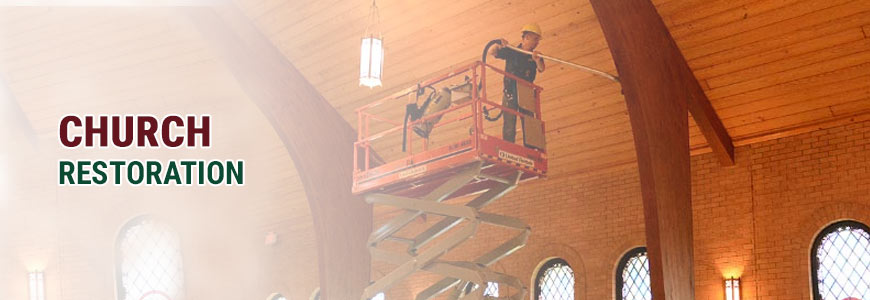 Churches Restoration Services in North Carolina