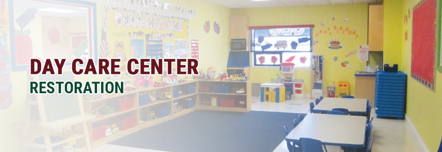 Day Care Center Restoration Services in North Carolina