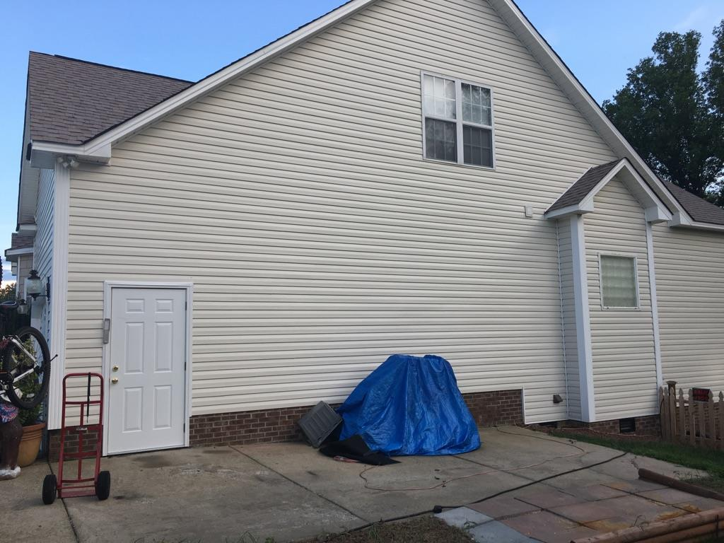 Completed Siding Repairs