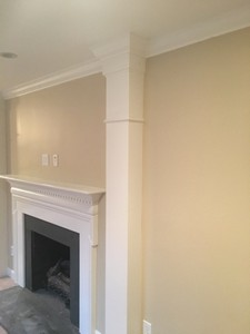 column and wall repair